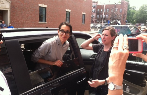 Amherst's Michelle Chamuel Performs, Waits for Votes