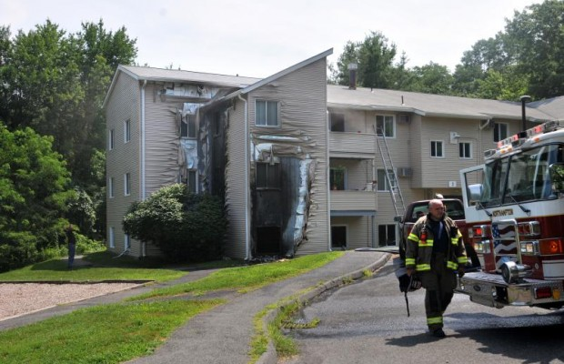 Meadowbrook Fire Displaces 15 Families