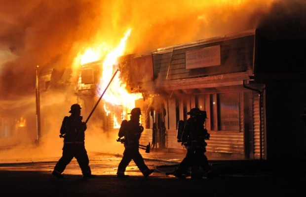 Strip Mall Fire Probe Narrows