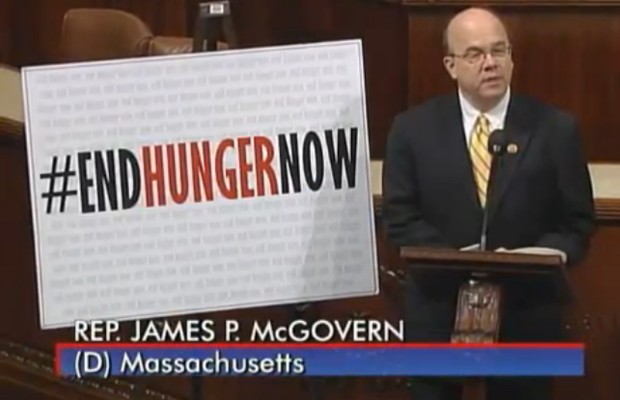 Rep. McGovern Takes 'Monte's March' to DC