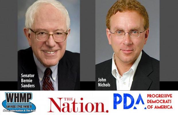 Senator Bernie Sanders Live in Northampton