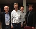 5.10.14: (L-R) Bill Newman, Thom Hartman, David Pakman, Bob Flaherty