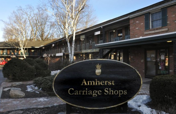 Amherst Carriage Shops On Way Out